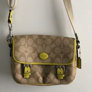 brand new coach shoulder purse